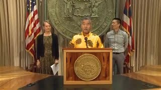 Governor and state officials on the capture of Randall Saito