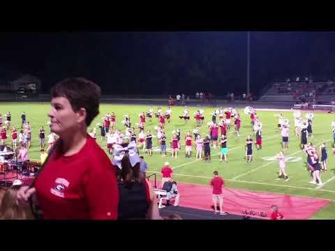Godwin High School Marching Band - 8/31/17