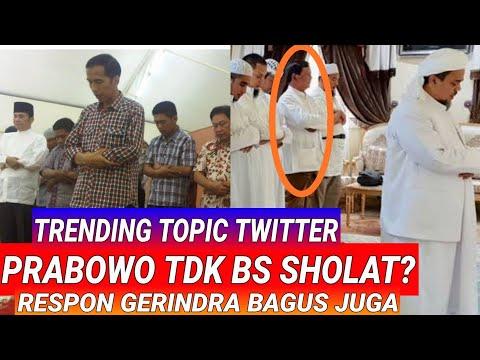 TAGAR PrabowoTdkBisaSholat TRENDING,INI RESPON GERINDRA;CAPRES CAWAPRES SANDI UNO;JOKOWI MA'RUF AMIN Mp3
