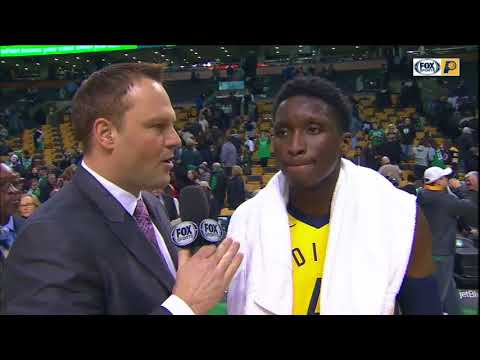Victor Oladipo says Pacers' victory over Celtics is a good one to build on