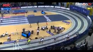 Adam KSZCZOT 800m 1:46.23 Glasgow Indoor Grand Prix 2016