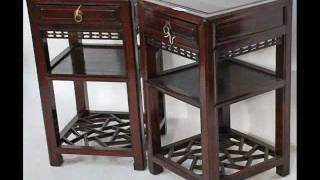 Antique Chinese Side Tea Tables_bk0058y.wmv