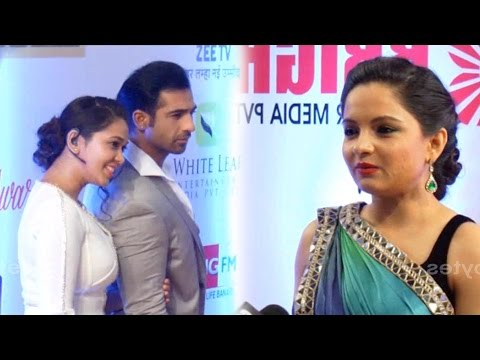 Mohammed Nazim, Firoza and Giaa  Manek- Ahem,Kinjal and Ex-GOPI at Gold Awards