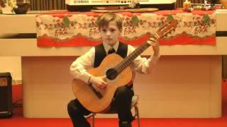 Vánoční koncert 19.12. 2011, Martin Šarocký - kytara