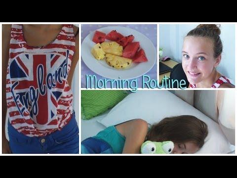 Моё утро //Morning Routine♡ /HelloPolly