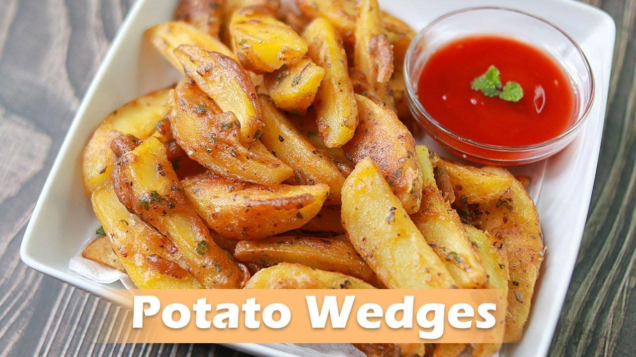 Crispy Potato Wedges | Fried Potato Wedges | Easy Potato Snacks Recipes  #Shorts