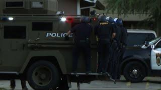 Sacramento officer shot, suspect fires at police
