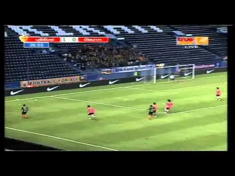 BURIRAM UTD 7-2 CHAINAT FC [Full Match] TPL 11-08-2012