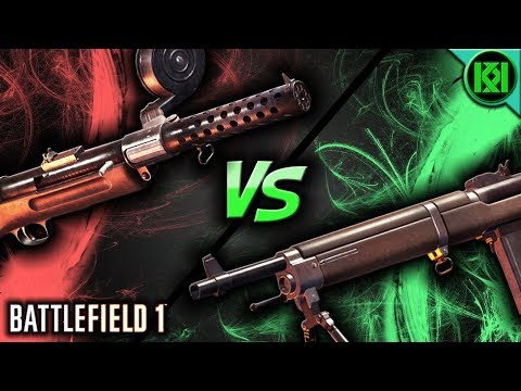 Battlefield 1: RIBEYROLLES 1918 VS MP18 🔥 BF1 Weapons ~ Gun Comparison Guide (Assault)