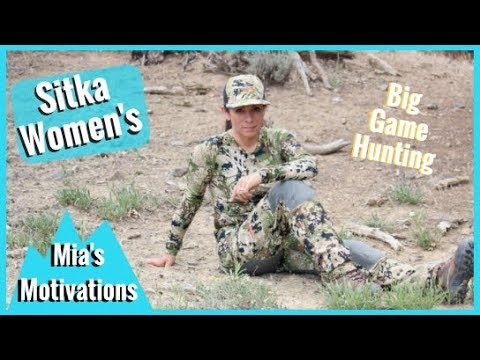 Women's Hunting Camo Big Game Series By Sitka | Mia's Motivations