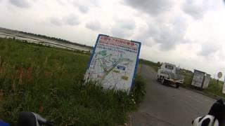 荒川(西遊馬公園手前=>上江橋)~入間川 サイクリング その2