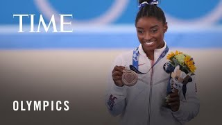 Simone Biles Returns to the Tokyo Olympics—With a Big Statement | TIME