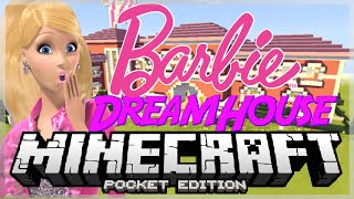 Barbie's Dream House! | Minecraft Pocket Edition Map Review