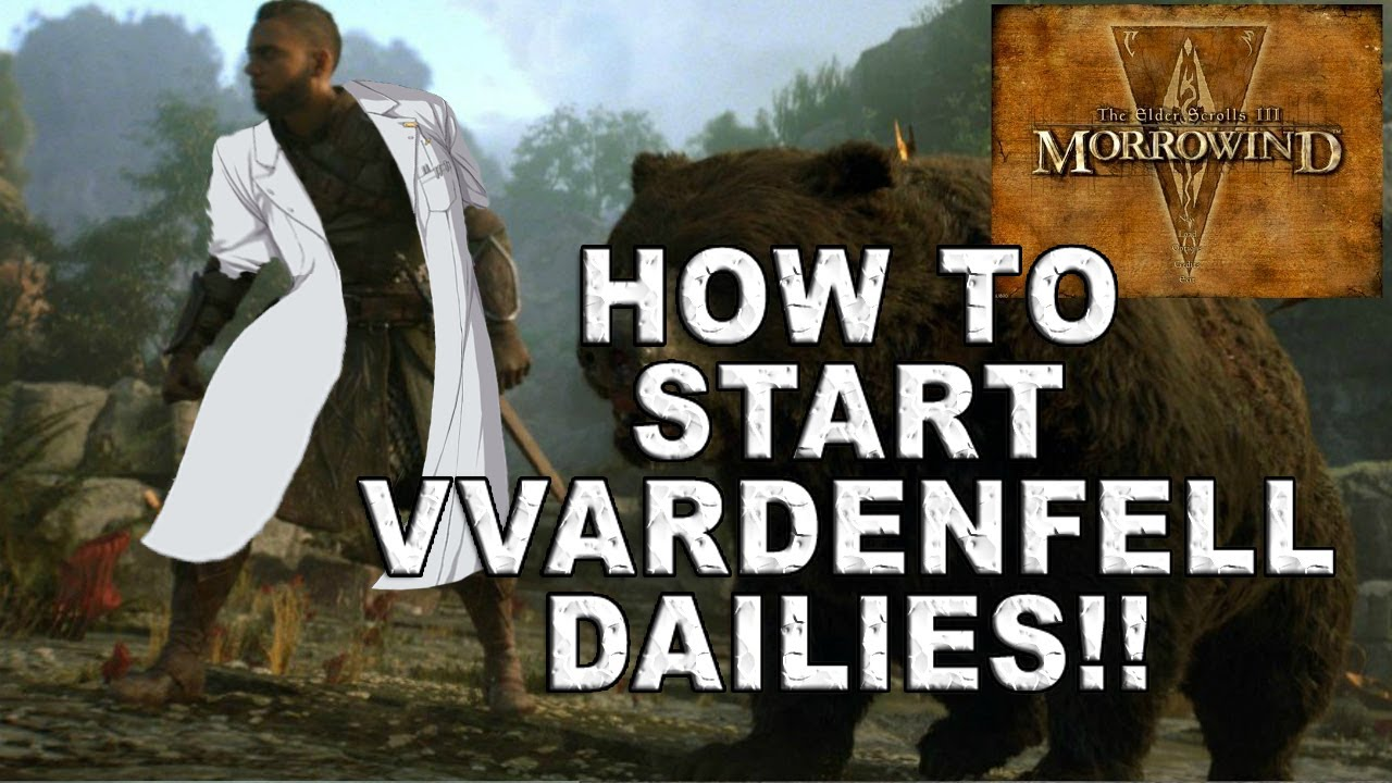 ESO MORROWIND EP 4: HOW TO START VVARDENFELL DAILIES!! MORAG TONG MOTIF'S N  NEW SETS!!