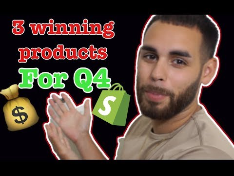 Sell These 3 Winning Products & Make Money FAST! | Shopify Dropshipping 2019 thumbnail