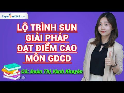 Giới thiệu khóa học Luyện thi THPT Quốc gia môn GDCD – Cô Đoàn Thị Vành Khuyên