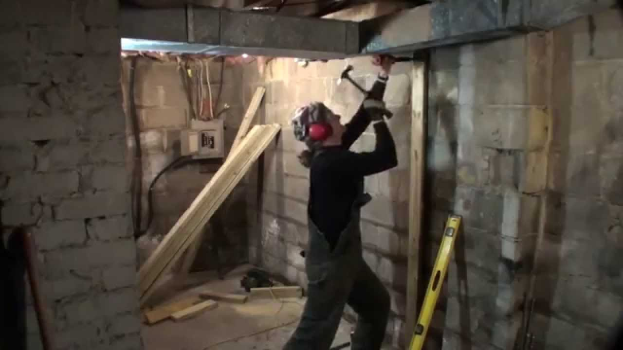Basement Wood Shop 1 Mounting A Sub Panel Youtube