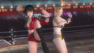 Download Video Dead or Alive 5 Ultimate - Sexy Race Queen girl fighting outfits DLC update - PS3 X360 MP3 3GP MP4