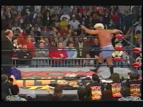 Greatest Ric Flair strut of all time - YouTube