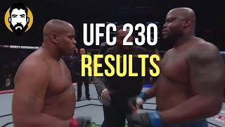 UFC 230 Results: Daniel Cormier vs. Derrick Lewis | Post-Fight Special | Luke Thomas