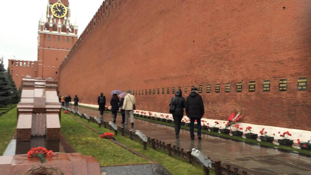Visiting Necropolis Lenin