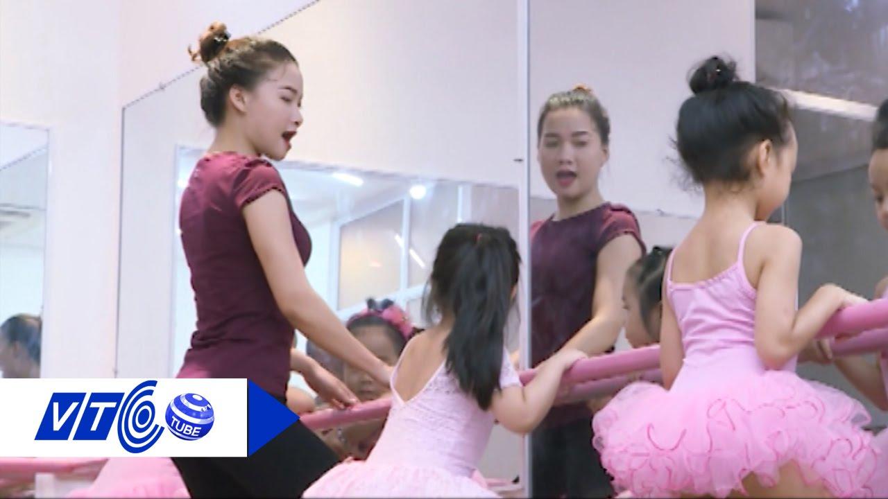 Lớp múa Ballet của nhí Hà thành   VTC