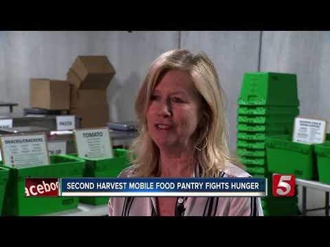Second Harvest mobile food bank fights hunger