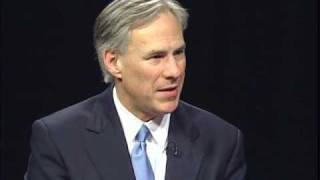 Greg Abbott, Texas Attorney General on RED, WHITE AND BLUE