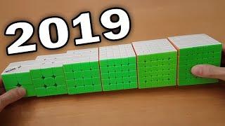My Main Speedcubes 2019