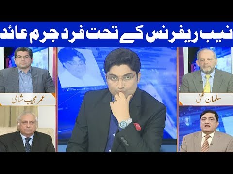 Nuqta e Nazar with Ajmal Jami - Sharif Family In Jail? - 19 October 2017 - Dunya News