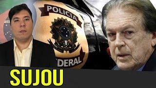 POLÍCIA VAI ATRÁS DO PRESIDENTE DO PSL