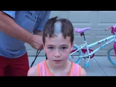 Head shaved summer