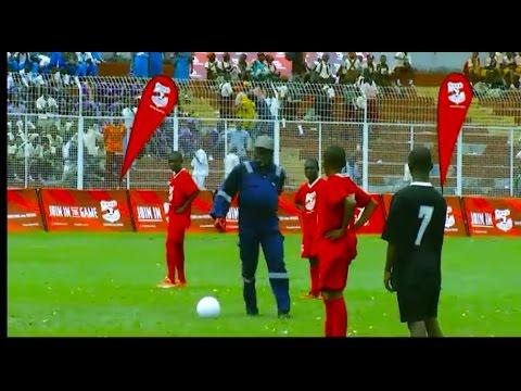 Jay Jay Okocha Surprises Copa Coca-Cola Nigeria