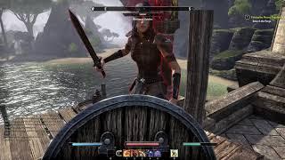 The Elder Scrolls Online Vampire gameplay część 1/2(PC)[HD](PL)
