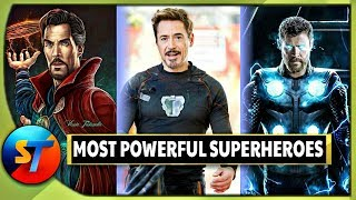 Most Powerful Superheroes in MCU | Explained In HINDI