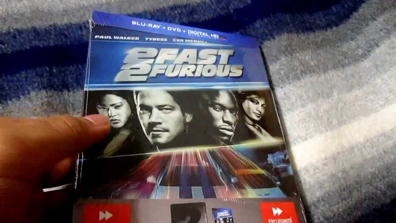2 fast 2 furious blu ray steelbook unboxing youtube. Black Bedroom Furniture Sets. Home Design Ideas