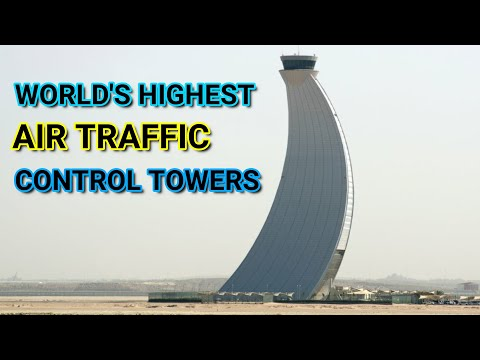 World's HIGHEST Air Traffic Control Towers (ATC)