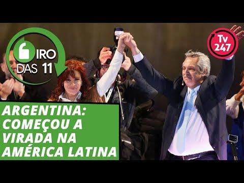 Argentina: começou a virada na América Latina - Giro das 11 - 12.ago.19