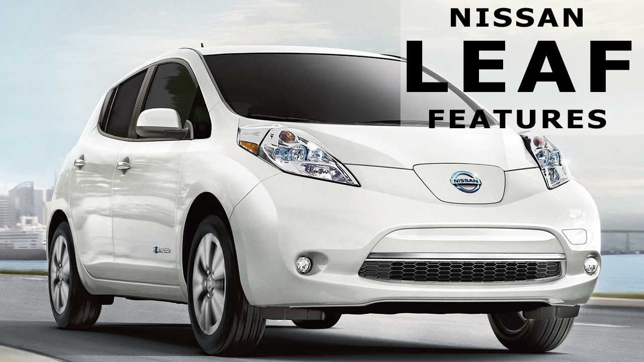2017 nissan leaf sl electric car features youtube. Black Bedroom Furniture Sets. Home Design Ideas