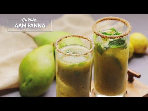 Gobble | How to make Aam Panna | Summer drinks | आम का पन्ना