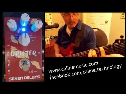 Caline Drifter CP-37 Delay Pedal Review