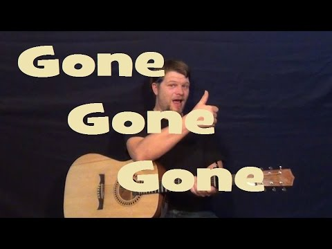 Gone Gone Gone (Phillip Phillips) Easy Strum Guitar Lesson How to Play Gone Gone Gone Tutorial