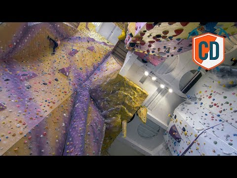 The HIGHEST Climbing Wall In England | Climbing Daily Ep.1424