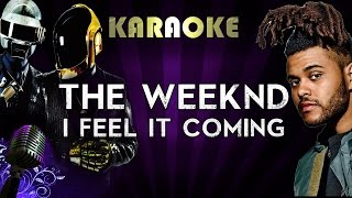 Baixar The Weeknd Ft. Daft Punk - I Feel It Coming | Official Karaoke Instrumental Lyrics Cover Sing Along