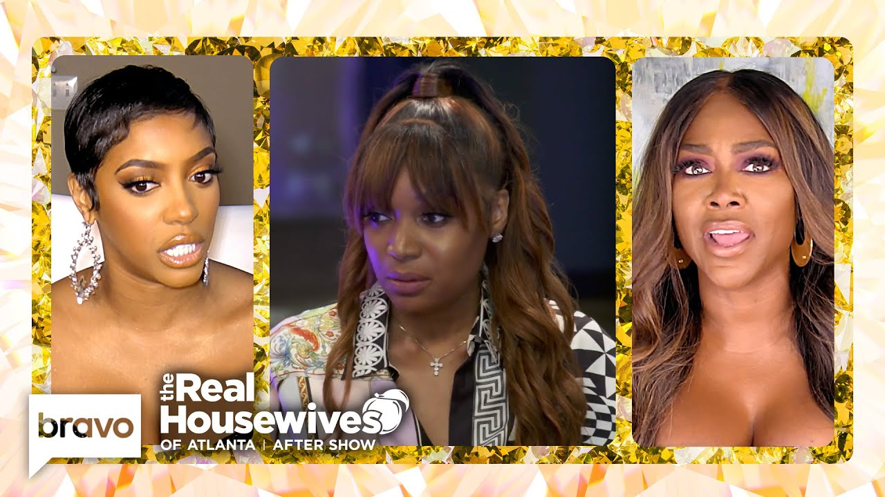 Why Did Marlo Act Get in the Middle of Porsha and Kenya's Drama? | RHOA After Show (S13 E16) Bonus