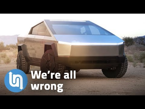 Tesla Truck - why we're all wrong about the Cybertruck design
