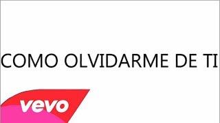 Annette Moreno - Como Olvidarme De Ti (Lyrics Video)