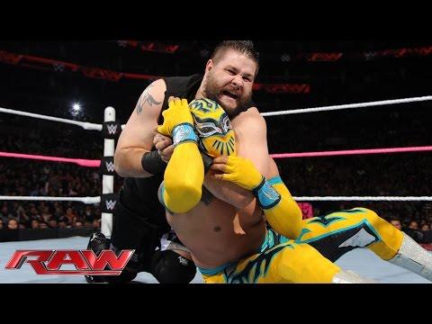 Sin Cara vs. Kevin Owens: Raw, Oct. 5, 2015