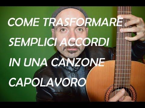 Trasforma semplici accordi in una canzone capolavoro. Convert your chords in a masterpiece song.