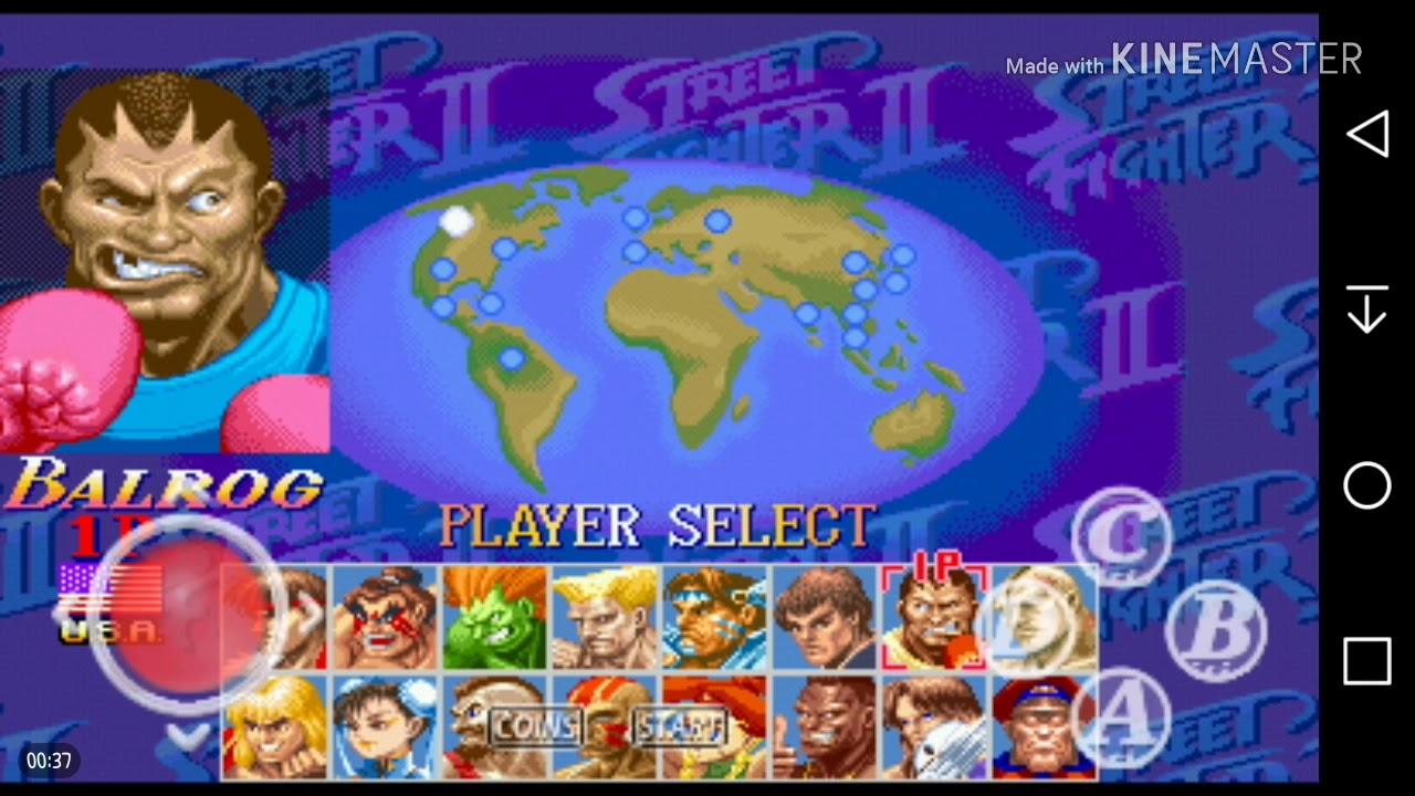 Street Fighter 2 Turbo APK Sem Emulador 2018